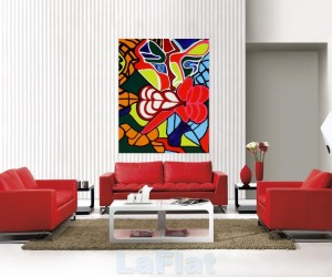 Red & White Inspiration for your Living Room